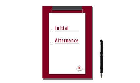 Alternance ou Initial, quel choix et à quel moment ?